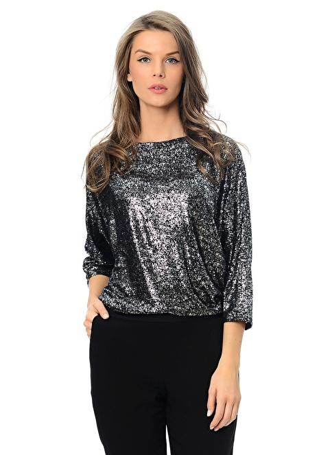 Vero Moda Uzun Kollu Bluz Siyah